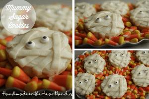 Mummy Cookies & Homemade Rootbeer