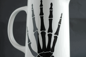 Halloween Silhouette Pitcher & Cake Stand