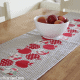 Quilted Apple Table Runner