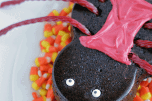 Halloween Spider Brownies with Imagine Mold