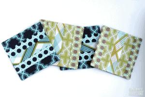 Sewn Coasters