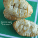 Football Caramel Apple Turnovers