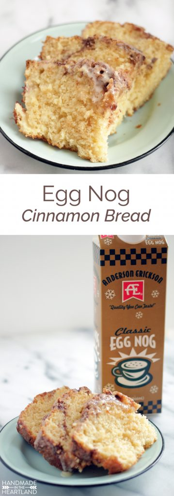 eggnog cinnamon bread recipe