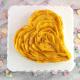 Valentine Heart Mango Cream Tart
