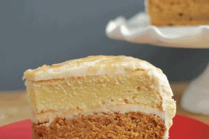 Caramel & Vanilla Layer Cake