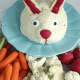 Easter Bunny Cheeseball, Jalapeno Bacon Cheeseball