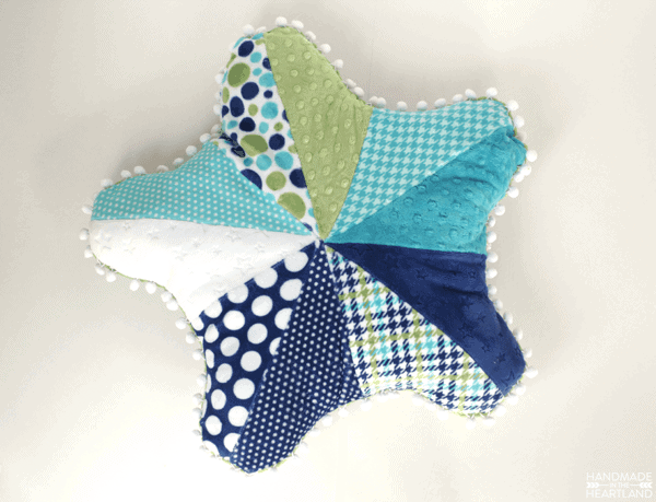 How to sew a starfish pillow