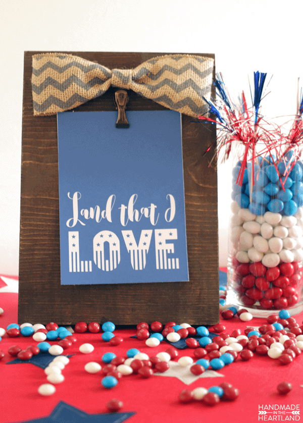 Patriotic home decor prints handmade in the heartland for Patriotic decorations for home