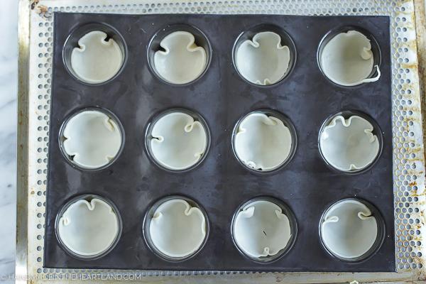 sweet potato casserole in muffin tray