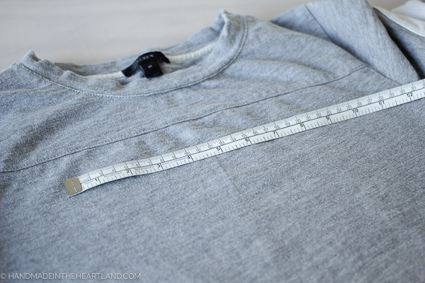 Measure your tee