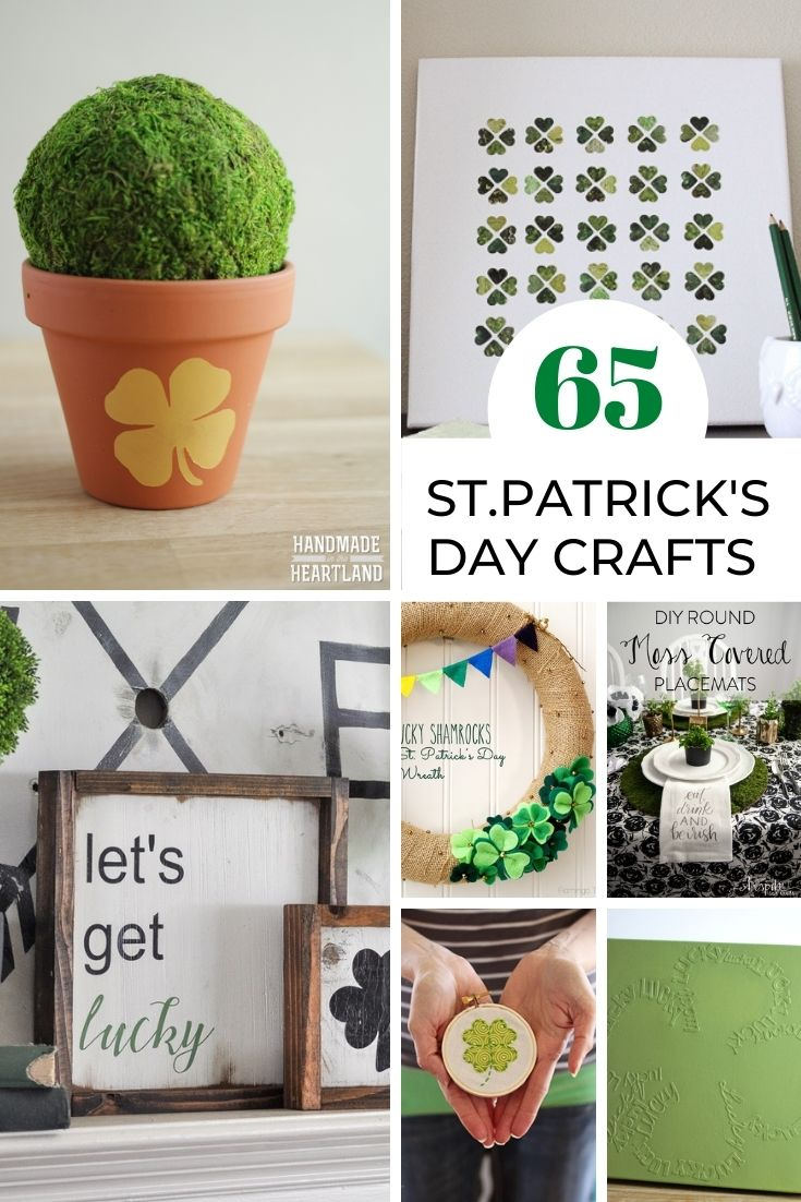 65 St Patrick S Day Crafts Handmade In The Heartland