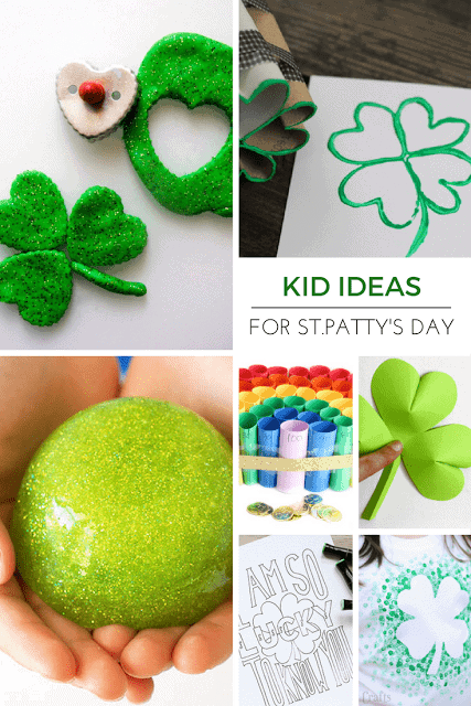 25+ Kid Activities for St.Patrick's Day