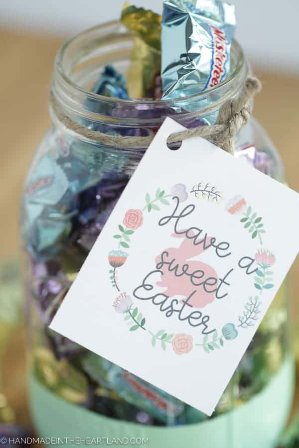 Easter Mason Jar Gifts