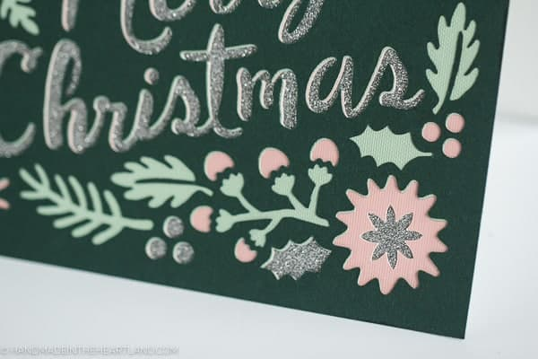 How to make Christmas cards with your Cricut Explore
