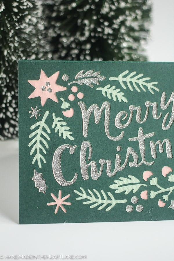 Cricut Paper Christmas Card