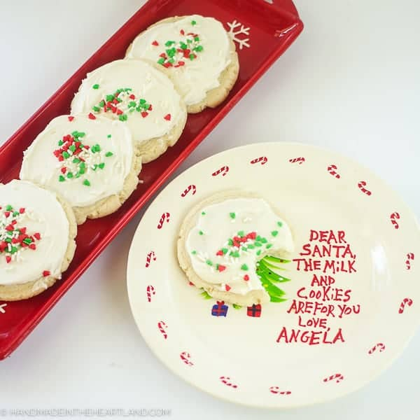 Frosted Sugar Cookies With Sour Cream Full Recipe And Tutorial