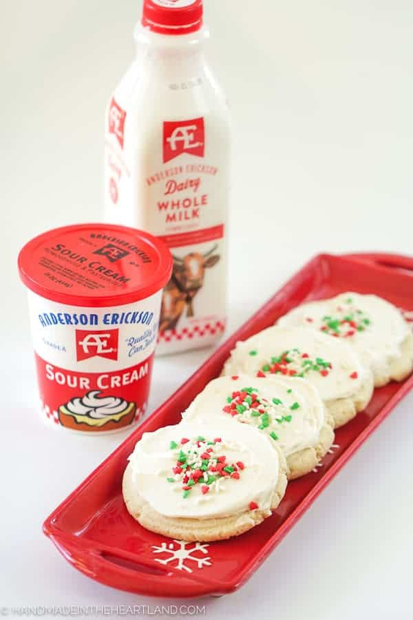 Image Of Sour Cream Christmas Frosted Sugar Cookie Recipe 11 Of 19