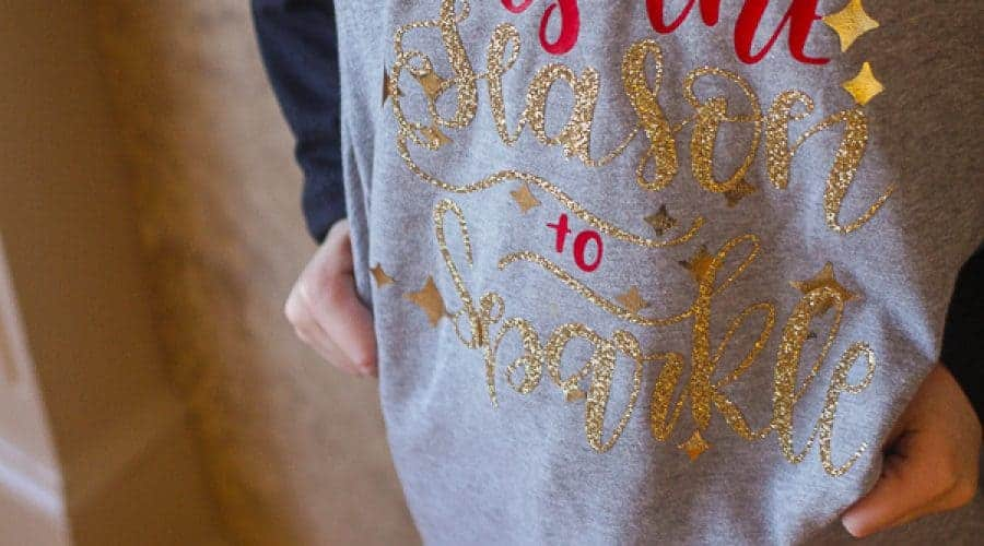Cricut Iron-On Christmas PJ's