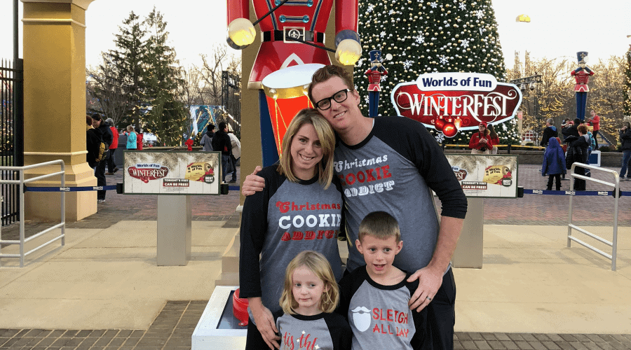 Winterfest at Worlds of Fun