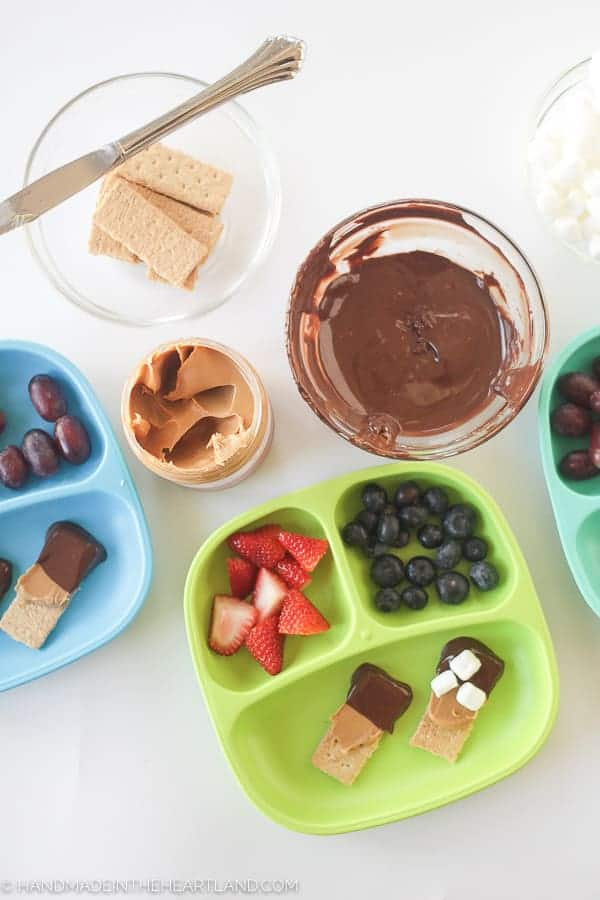 Easy after school snacks that can be made in minutes with pantry items