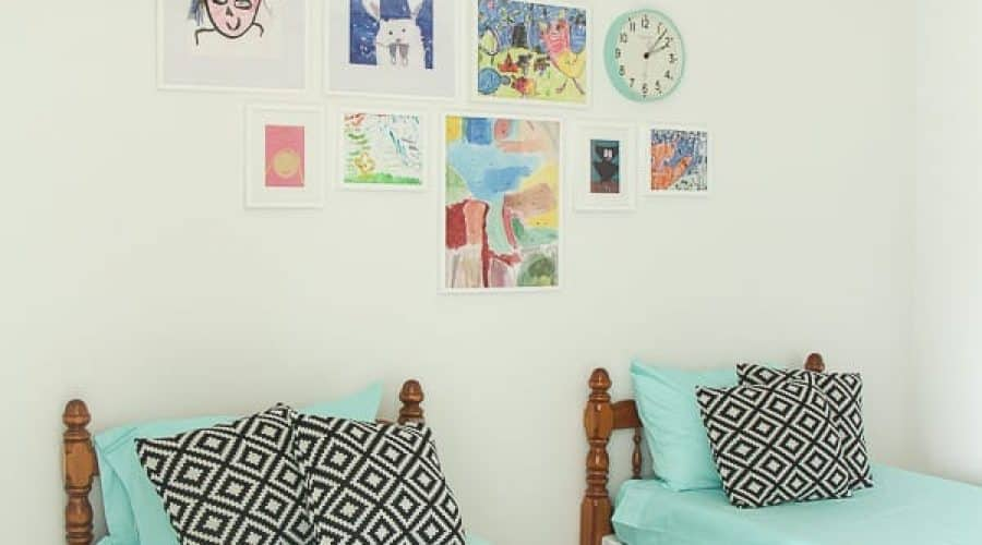 Modern Kids Room Decor Refresh