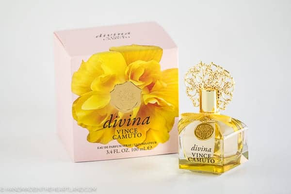 Divina by Vince Camuto floral perfume perfect for Mother's Day