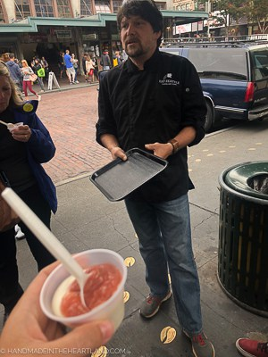 East Seattle food tour in Pike Place Market