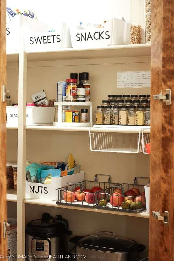 Nice organized pantry image