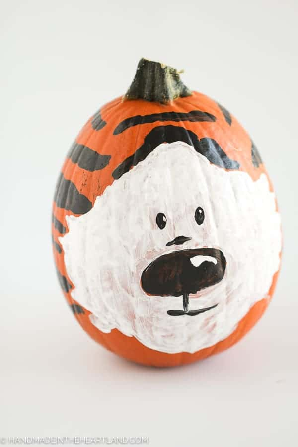 Tips for Painted Pumpkins
