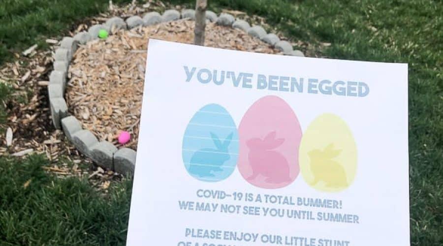 Neighbor Surprise Easter Egg Hunt