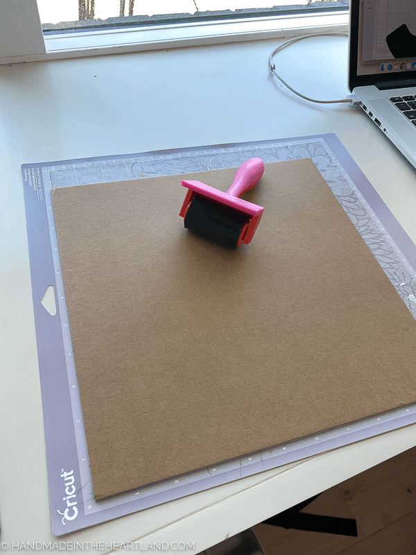 How to prepare to cut chipboard in the Cricut Maker
