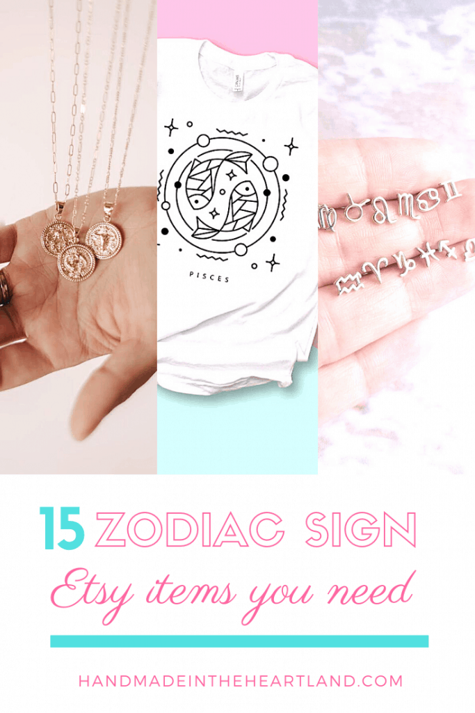 15 Zodiac Sign Etsy Items to buy