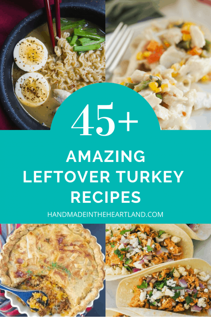 45 recipes for leftover turkey