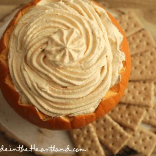 No Bake Pumpkin Pie Dip