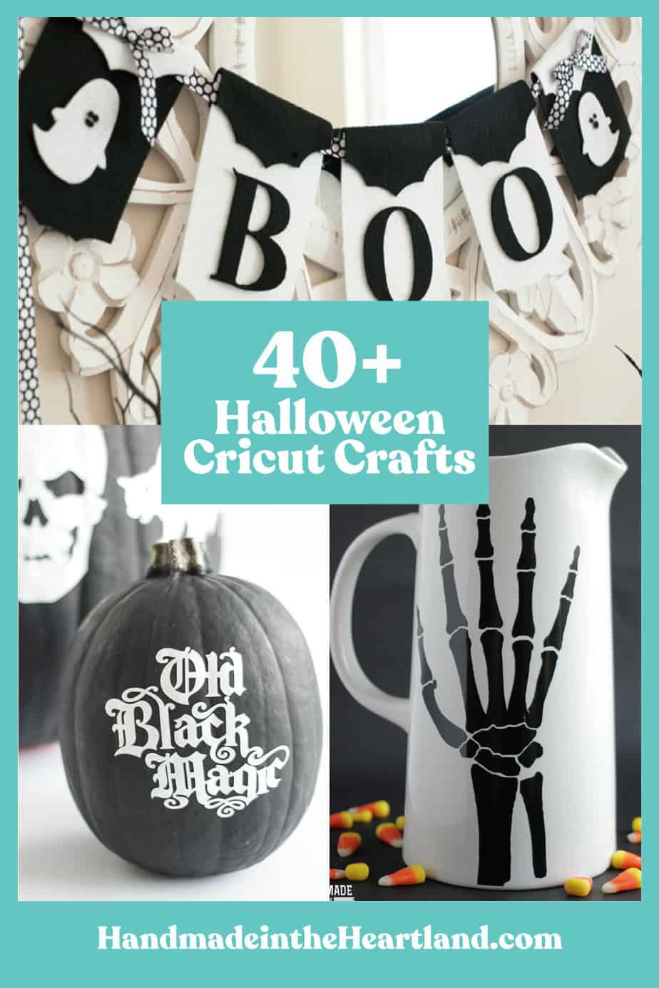 Over 40 Halloween Cricut Crafts
