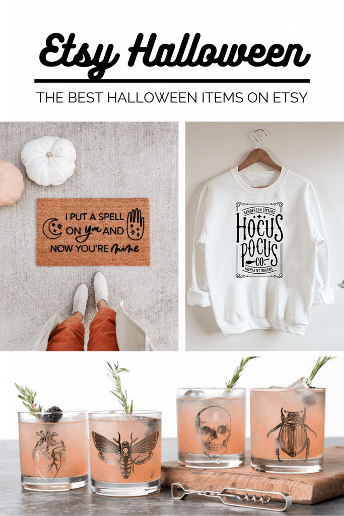 Etsy Halloween items, clothing, home decor and more!