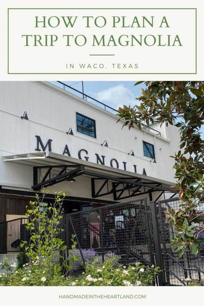 How to plan the best trip to Magnolia in Waco, Texas. Tips found in this post are where to stay, how to see fixer upper homes and where to shop in Waco.