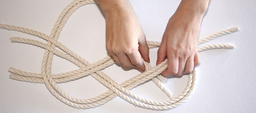 how to tie a nautical knot