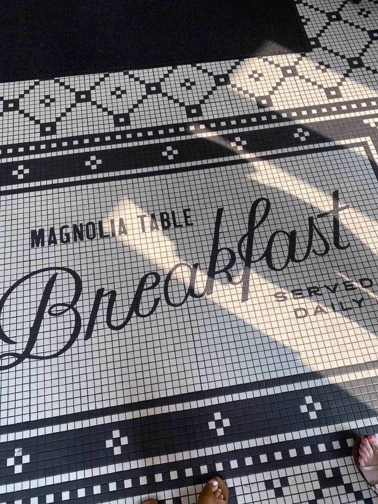 Magnolia Table for breakfast and lunch in Waco Texas