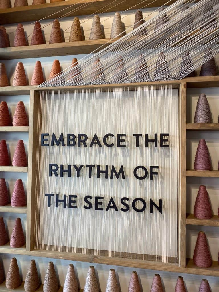 Embrace the rhythm of the season fall decor at magnolia market in waco texas