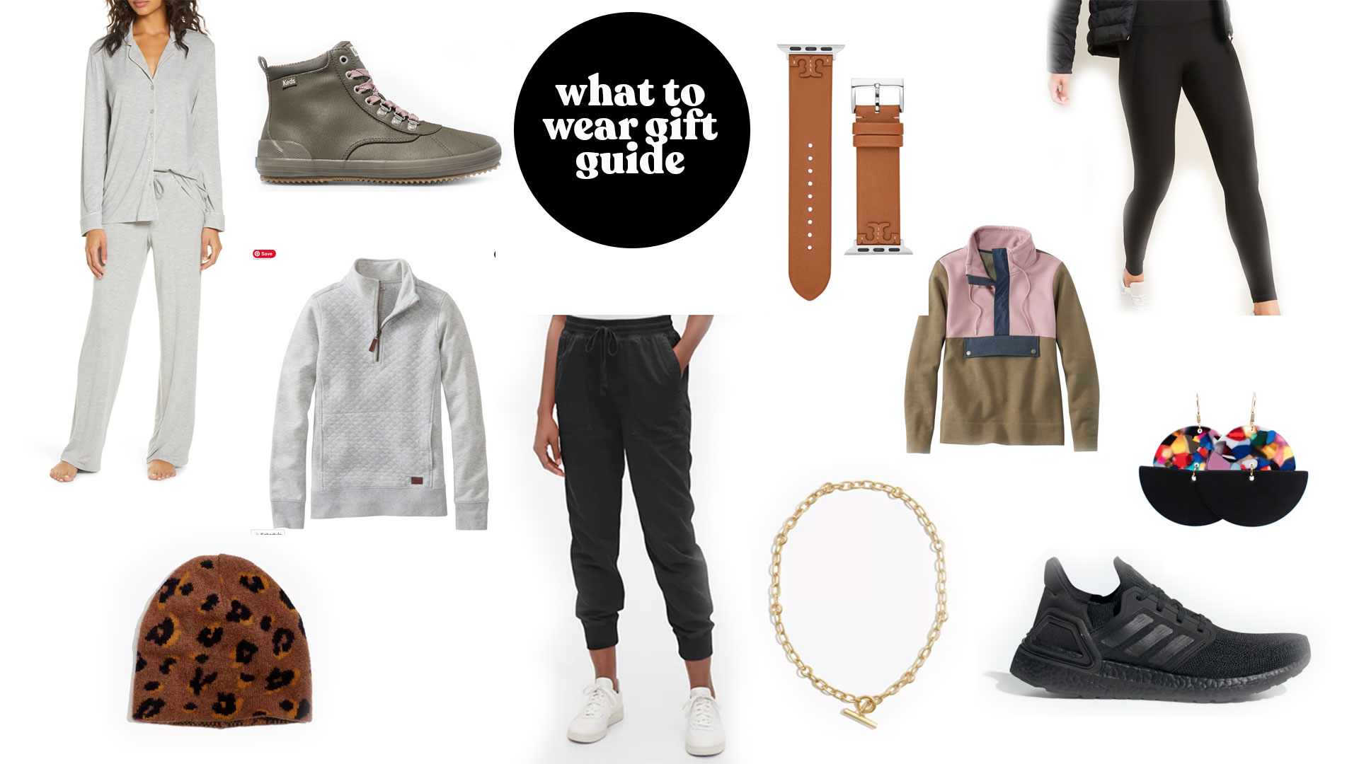 women's clothing and accessories gift guide
