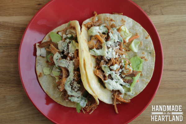 easy pulled pork tacos