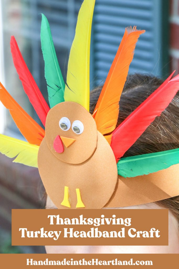How to make a thanksgiving turkey headband craft